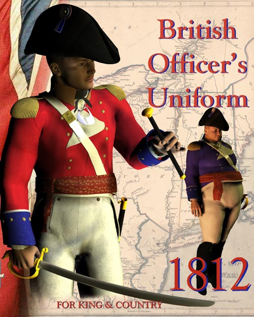 1812 British Officer's Uniform