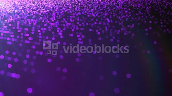 Pan Across Purple Dots