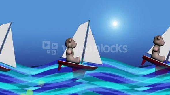 Sailing Bear
