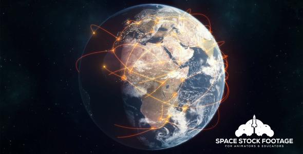 Global Network - Orange