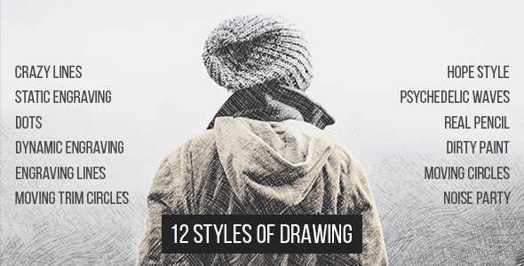 12 Styles Of Drawing