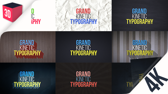 Grand Kinetic Typography