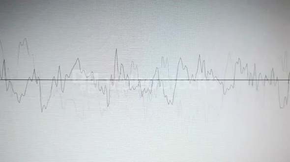 Audio Level Graph