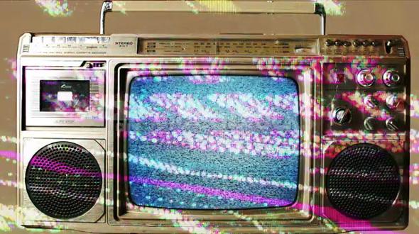 Glitch TV Static