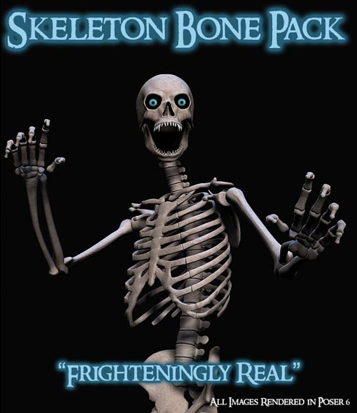 Skeleton Bones Pack