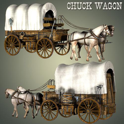 Chuck Wagon [ .DUF & Iray UPDATE ]