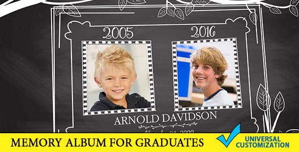 Graduation Memory Board