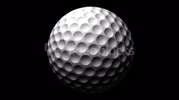 Spinning of Golf Ball