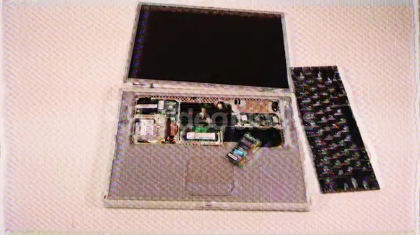 Grainy Laptop Disassemble