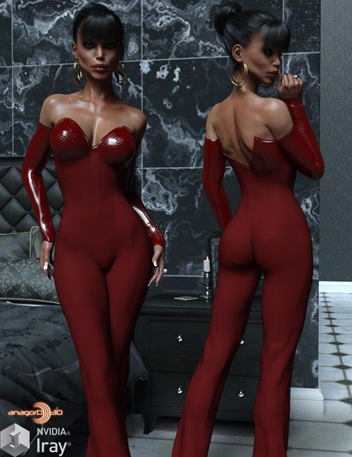 VERSUS - Eleganza Jumpsuit for Genesis 3 Females