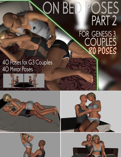 On Bed Poses for G3 Couples PART 2