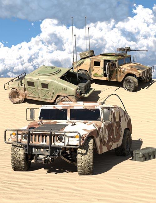 Light Tactical Vehicle - Texture Pack