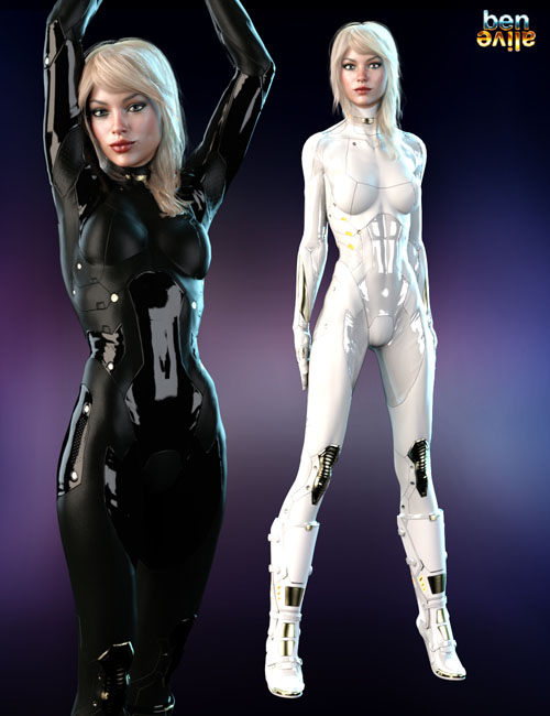 Jupiter Armor iray Materials for SF BodySuit and SF Boots