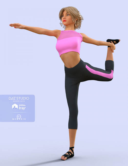 H&C Yoga Suits for Genesis 3 Female(s)