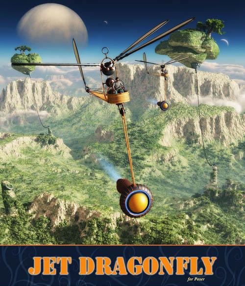 Jet Dragonfly