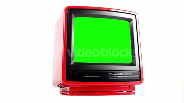 Green Screen TV Spin