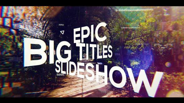 Big Titles Slideshow