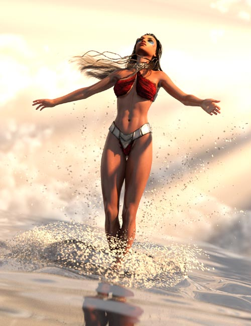 SY Splashing Water Iray