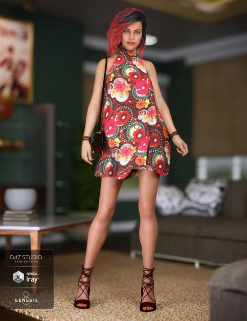 Midnight Swing Outfit for Genesis 8 Female(s)