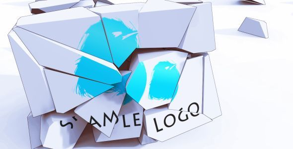 Cartoon Sneaky Box Logo Reveal
