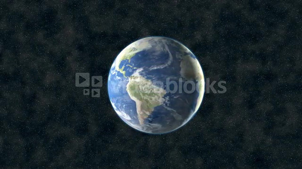 Center Earth In Space