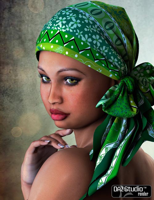 The Face of Africa Skin Set 1 for Dawn (DAZ Studio)