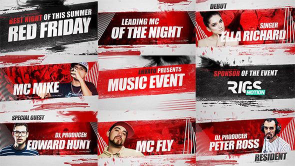 Music Event 3 // Grunge Promo