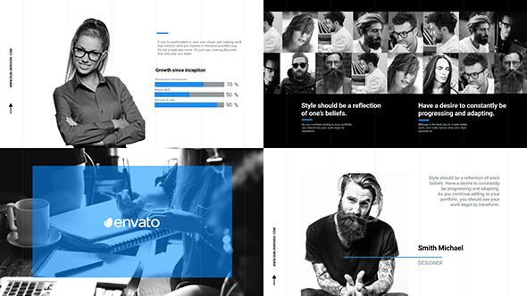 Business Slideshow / Corporate Promo / Clean Opener