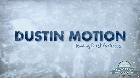 Dust in Motion - Organic Particles