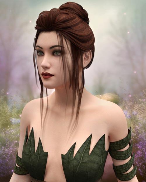 Ashley Hair for Genesis 8 Female(s)