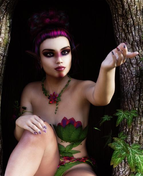 3DSSilver Saira for Genesis 8 Female