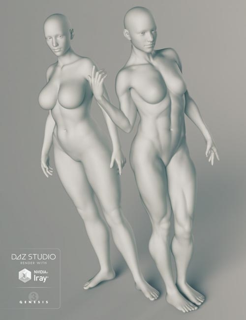 Genesis 3 Female Body Morphs