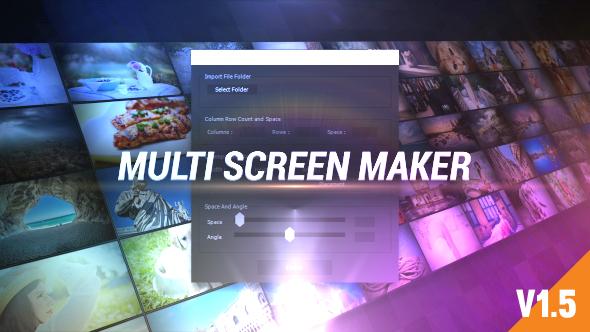 Multi Video Screen Maker Auto