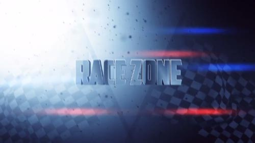 Race Zone Title Design