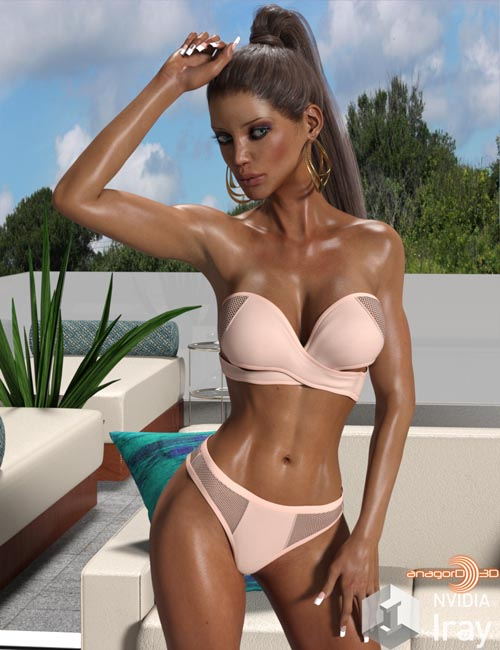 VERSUS - Pool Party Bikini for Genesis 3 Females