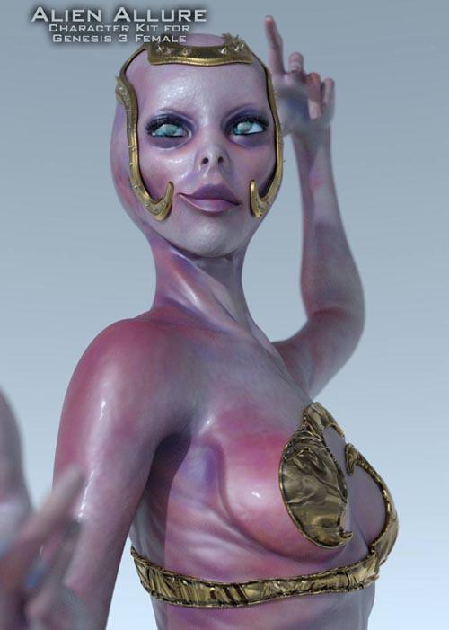 ArtDev Alien Allure For G3F