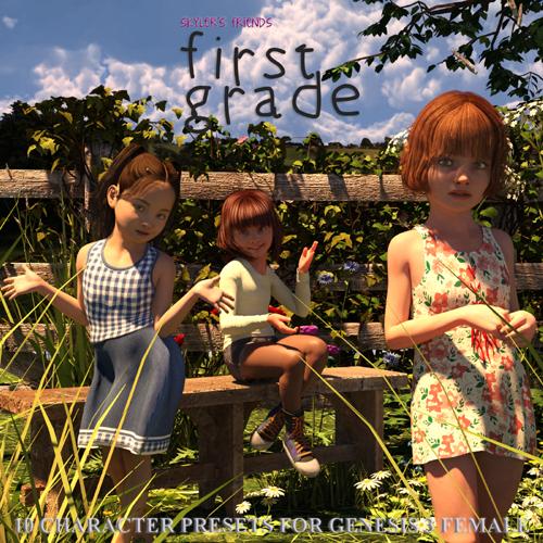 Skyler's Friends: First Grade