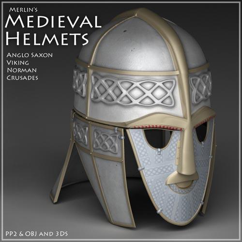 Merlin's Medieval Helmets