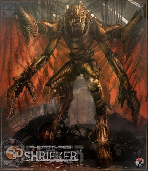 RD Phenotypes 009 Shrieker - Poser