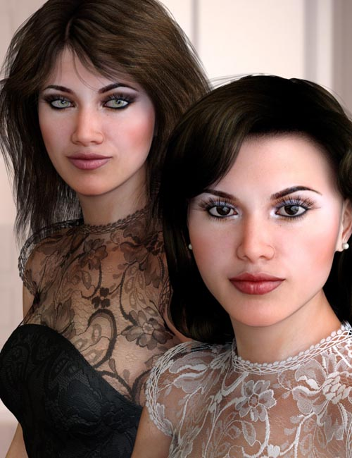 Julia and Juliana for Genesis 8 Female