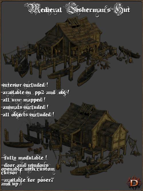 Medieval Fisherman's Hut