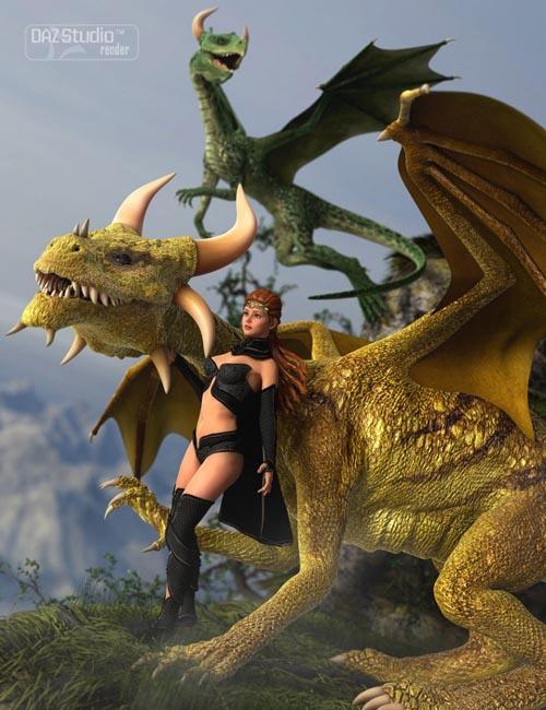 DAZ Dragon 3 Textures [ Iray UPDATE ]
