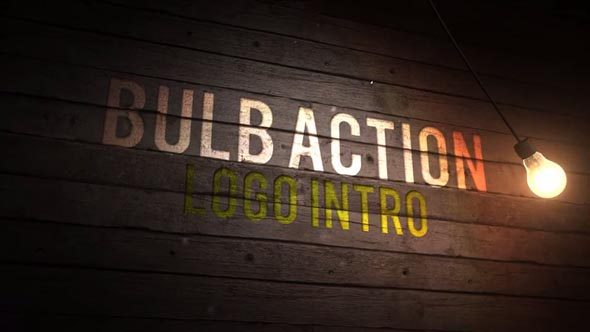 Bulb Action Logo Intro