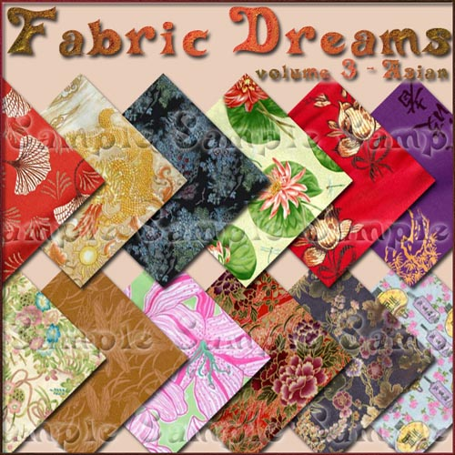Fabric Dreams - Volume 3: Asian