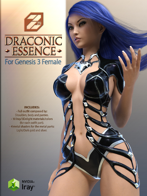 Draconic Essence for Genesis 3 Female