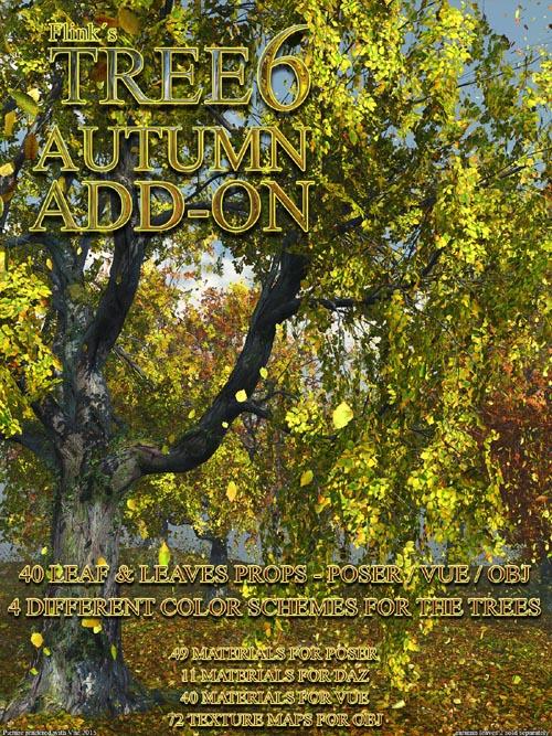 Flinks Tree 6 - Autumn Add-on