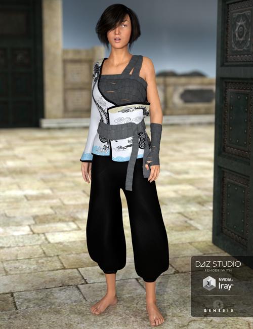 Eastern Wanderer for Genesis 3 Females