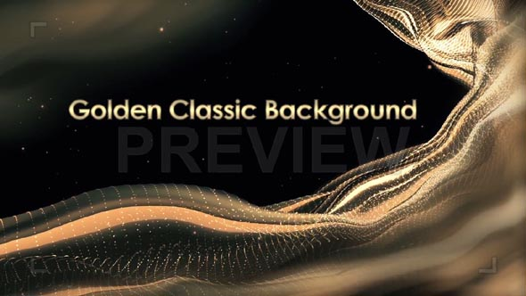 Classic Golden Background