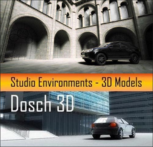 DOSCH 3D: Studio Environments | MAX