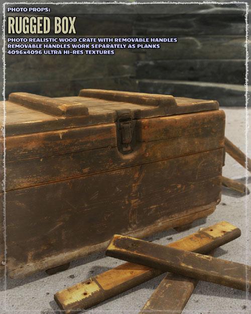 Photo Props: Rugged Box